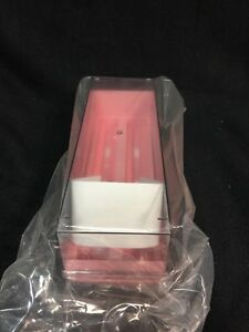 Simport 100 place Microscope Slides Storage Box pink partial Case Of 8