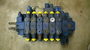 Hydraulic Control Valve 6 Section