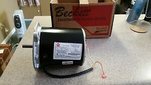 Beckett Blower Motor For Hot Water Pressure Washers 1 4hp 3450rpm