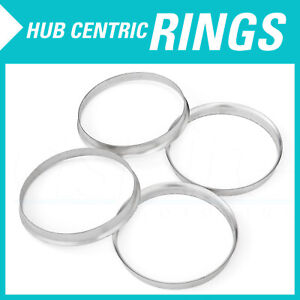 4 Hub Centric Aluminum Rings 74 1mm To 72 6mm Hubcentric 74 72 56 Fits Bmw