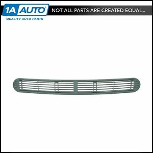 Oem 15046437 Dash Defroster Grille Pewter Front Center For Chevy Gmc Oldsmobile