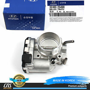 Genuine Throttle Body Fits 2006 2013 Hyundai Kia 2 0l 2 4l Oem 35100 25400