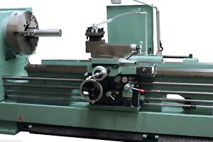 Eisen Hr26120 Heavy Duty Lathe 6 Bore 26 Swing 20hp W Rapid Traverse Tta