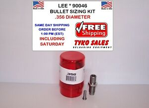 LEE 90046 * LEE PRECISION BULLET SIZING DIE KIT * .356 DIAMETER * 90046