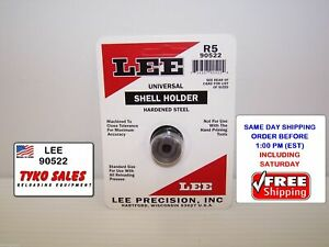 90522 * LEE UNIVERSAL SHELL HOLDER * R5 * 7MM REM MAG * 300 WIN MAG * 338 WIN