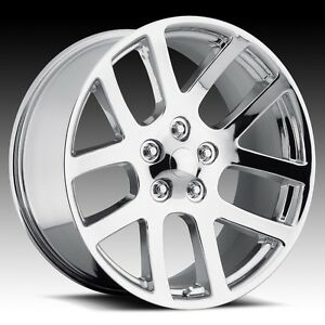 20 Oe Srt10 Wheels Chrome 5x115 Dodge Charger Challenger Magnum
