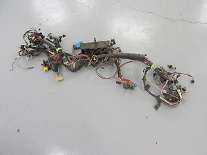 1985 C4 Corvette Complete Dash Wiring Harness L98 Nice Low Mileage Automatic