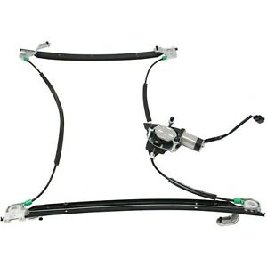 Power Window Regulator For 2001 2003 Dodge Grand Caravan Front Left With Motor