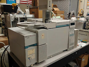 Hp Agilent 6890 5973 Gc ms With 7673