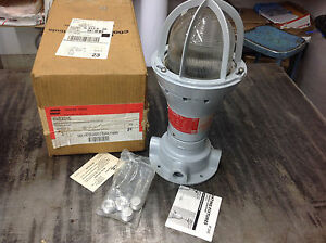 Crouse Hinds Evcx215 Explosion Proof Incandescent Industrial Light Fixture Nib