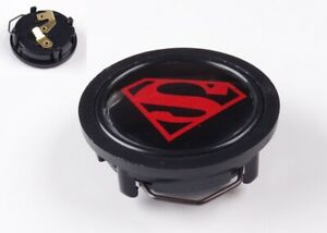 Steering Wheel Superman Man Of Steel Horn Button For Momo Sparco Grant Dino