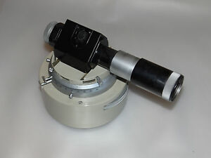 Vickers Metallurgical Projection Microscope Illumination Adjustment Element