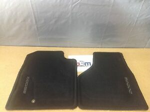 2002 2005 Dodge Ram Black Carpet Front Floor Mats Factory New Oem 82207015ab