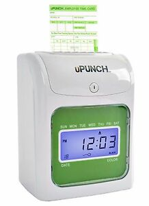 Upunch Hn1000 Electronic Punch Card Time Clock