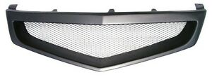 Sport Mesh Grill Grille Fits Jdm Acura Tsx Honda Accord Euro R 06 08 2006 2008