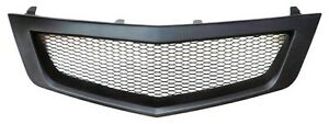 Sport Mesh Grill Grille Fits Jdm Acura Tsx Honda Accord Euro R 09 10 2009 2010