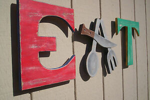 Eat Sign Letters For Moms Diner Vintage Style Home Or Restaurant Decor