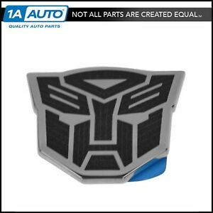 Oem Fender Mounted Transformers Edition Autobot Emblem Lh Or Rh For Chevy Camaro