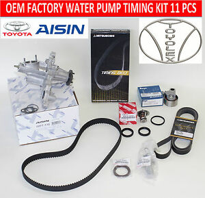New Lexus Is300 Gs300 Factory Oem Complete Timing Belt Water Pump Kit 11 Pcs
