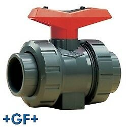 1 2 Threaded socket Pvc True Union Ball Valve With Fpm Seals