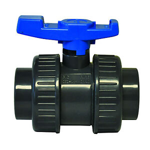 2 Socket threaded Pvc Economy True Union Ball Valve With Epdm O rings