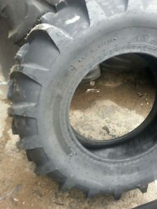 Two 14 9x24 Massey Ferguson T l 8 Ply Easy Repair Tractor Tires