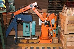 Asea Industrial Robot And Control