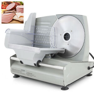 New 7 5 Electric Meat Slicer Blade Home Deli Food Slicer Veggie Premium Kitchen