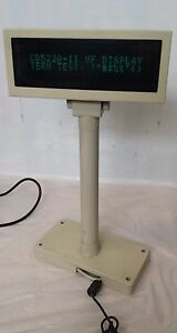 Partner Tech Cd 5220 Series Cash Register Customer Pole Display Screen 12v