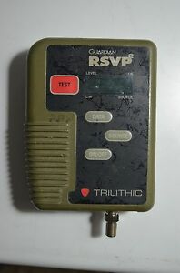 Trilithic Rsvp2 Installer Return Path Tester 80 To 92 Mhz
