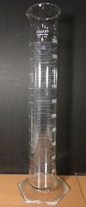 Kimble Kimax Glass Tc To Contain 2000ml 2l Hex Base Graduated Cylinder 20022