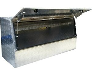 57 Heavy Duty Aluminum Tool Box Storage For Trailer Ute Truck Tray Cabinet New