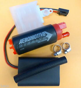 Aeromotive 11541 340 Lph Stealth In Tank Electric Fuel Pump Offset Inlet E85