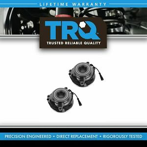 Wheel Bearing Hub Front Pair Set Of 2 For Land Rover Discovery Series Ii