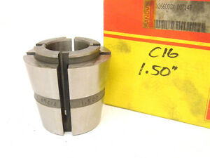 New Surplus Sandvik Balas C16 X 1 1 2 Collet C 16 X 1 50