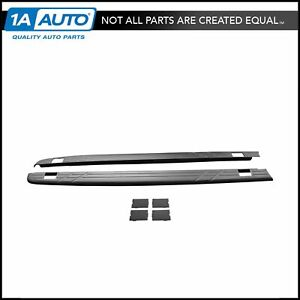 Oem Bed Side Rail Molding Cap Upper Pair 6 Foot Bed For Silverado 1500 Crew Cab