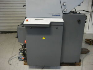 Heidelberg Printmaster Qm 46 2 2001 Video On Our Website