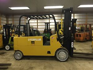 Caterpillar T200 20 000 Capacity Very Nice Shape Forklift Hardtire