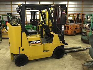 Caterpiller 6 000 Lb Capacity Forklift Lp
