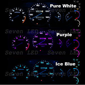 Gauge Cluster And Climate Control Led Kit For Honda Civic Ek 99 00 1999 2000