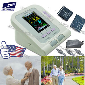 Digital Blood Pressure Monitor nibp adult child pediatric sw sphygmomanometer us