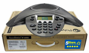 Polycom Soundstation Ip 6000 Conference Phone Poe 2200 15600 001 Brand New