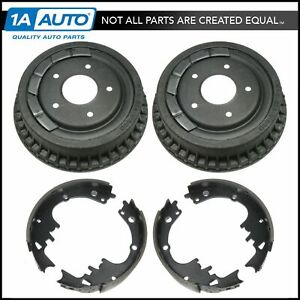9 5 Drum Rear Brake Shoe Set Pair Kit Auto Extra For Chevy Pontiac