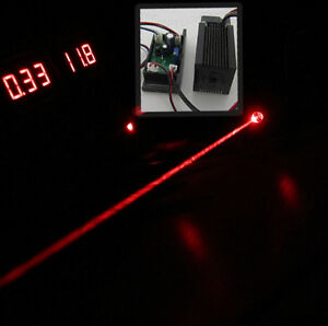 Dc12v 638nm 300mw Red Laser Module With Ttl And Fan For Rgb Laser Stage Lighting