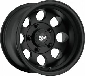 16 Pro Comp Offroad 7069 Black Wheels Rims 5x5