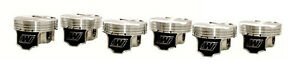 Wiseco 96mm 8 8 1 Cr Forged Pistons For Nissan 350z Infiniti G35 Vq35de 3 5l