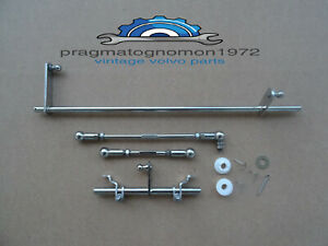 Volvo Amazon 123 Gt Su Hs6 Carb Linkage Kit Stainless Steel Mirror Finish