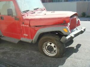 1999 Jeep Wrangler Steering Column Floor Shifter Type 140617 R418