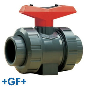 2 Threaded socket Pvc True Union Ball Valve With Fpm Seals