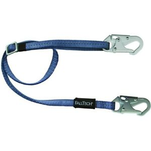 Falltech Fall Protection Safety Restraint Positioning Lanyard 4 5 To 6 17863